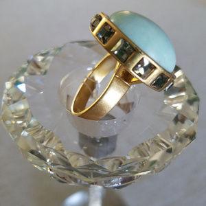 Lia Sophia Jewelry Collection Pavilion Ring Sz 11
